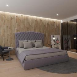 Мягкая кровать Барселона Вельвет 92