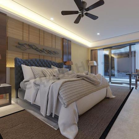 Мягкая кровать Аризона Шагги Графит