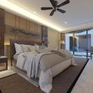 Мягкая кровать Аризона Шагги Беж