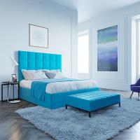 Кровать Мягкая кровать Джерси Шагги Азур