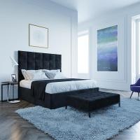 Кровать Мягкая кровать Джерси Вельвет 12