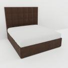 Мягкая кровать Джерси Вельвет 08