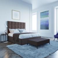 Кровать Мягкая кровать Джерси Вельвет 08
