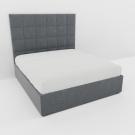 Мягкая кровать Джерси Шагги Грей