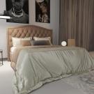 Мягкая кровать Флоренция Шагги Сенд