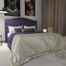 Мягкая кровать Флоренция Мадагаскар 08