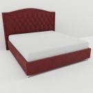 Мягкая кровать Флоренция Вельвет 09