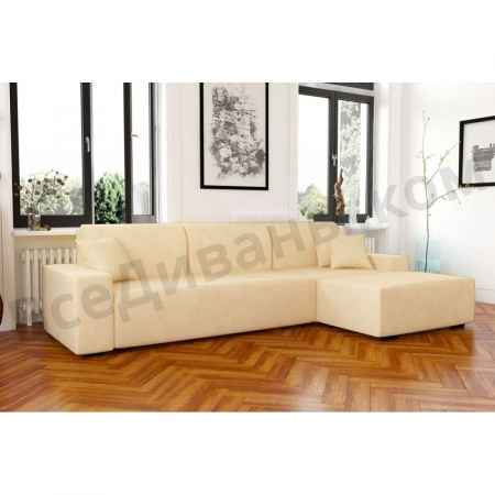 Угловой диван  Мальта Ивори 01