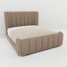 Мягкая кровать Небраска Шагги Беж
