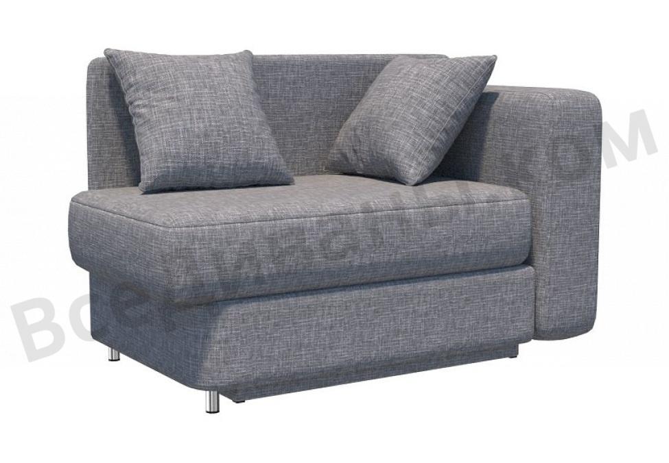 Прямой диван Леон детский, Вариант 10