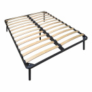 Мягкая кровать Небраска Эко Браун
