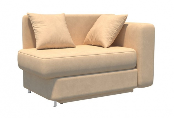 Прямой диван Леон детский, Вариант 7