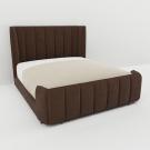 Мягкая кровать Небраска Вельвет 08