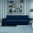 Прямой диван Ричмонд, Велютто 26
