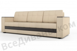 Прямой диван Атланта-Люкс Комфорт Модель 2