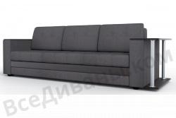 Прямой диван Атланта-Люкс Комфорт Модель 14 со столиком