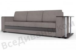 Прямой диван Атланта-Люкс Комфорт Модель 11 со столиком
