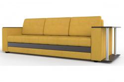 Прямой диван Атланта-Люкс Софт Модель 58 со столиком