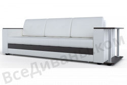 Прямой диван Атланта-Люкс Эко Модель 3 со столиком