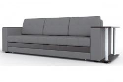 Прямой диван Атланта-Люкс Софт Модель 6 со столиком