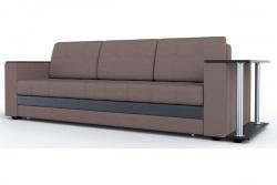 Прямой диван Атланта-Люкс Софт Модель 14 со столиком