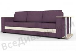 Прямой диван Атланта-Люкс Комфорт Модель 32 со столиком
