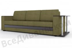 Прямой диван Атланта-Люкс Комфорт Модель 29 со столиком