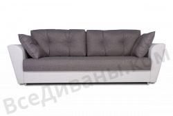 Прямой диван Амстердам-Люкс (Берг) Комфорт Модель 13