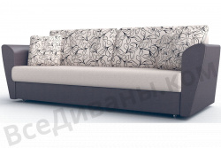 Прямой диван Амстердам-Люкс (Берг) Арт Модель 2