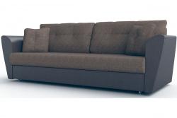 Прямой диван Амстердам-Люкс (Берг) Комфорт Модель 18