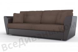 Прямой диван Амстердам-Люкс (Берг) Комфорт Модель 9