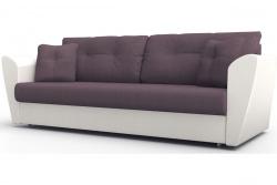 Прямой диван Амстердам-Люкс (Берг) Софт Модель 17