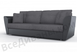 Прямой диван Амстердам-Люкс (Берг) Комфорт Модель 14