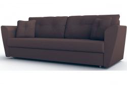 Прямой диван Амстердам-Люкс (Берг) Софт Модель 3