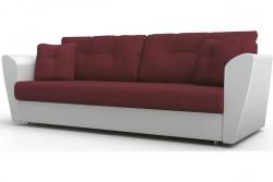 Прямой диван Амстердам-Люкс (Берг) Софт Модель 16