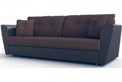 Прямой диван Амстердам-Люкс (Берг) Софт Модель 4