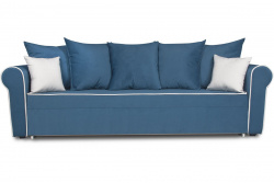 Прямой диван Рейн-2 (Гамбург) Софт Модель 30 с кантом