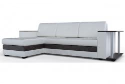 Угловой диван  Атланта-Люкс Эко Модель 3 со столиком