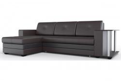 Угловой диван  Атланта-Люкс Эко Модель 1 со столиком