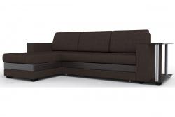 Угловой диван  Атланта-Люкс Софт Модель 4 со столиком
