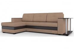 Угловой диван  Атланта-Люкс Софт Модель 23 со столиком