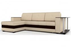 Угловой диван  Атланта-Люкс Комфорт Модель 2 со столиком