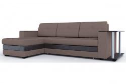 Угловой диван  Атланта-Люкс Софт Модель 14 со столиком
