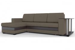 Угловой диван  Атланта-Люкс Софт Модель 22 со столиком