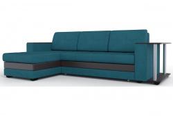 Угловой диван  Атланта-Люкс Софт Модель 10 со столиком