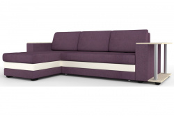 Угловой диван  Атланта-Люкс Комфорт Модель 32 со столиком