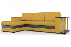 Угловой диван  Атланта-Люкс Софт Модель 58 со столиком