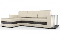 Угловой диван  Атланта-Люкс Эко Модель 2 со столиком
