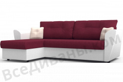 Угловой диван  Амстердам-Люкс (Берг) Софт Модель 16